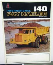 1991 International IH Dealer Sales Brochure 140 Pay Hauler Industrial Truck
