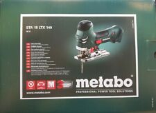 Metabo STA 18 LTX 140 BARE 18V Li-Ion Barrel Grip Orbital Jig Saw - Bare Tool