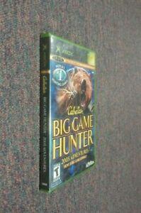 Cabela's Big Game Hunter: 2005 Adventures  (Microsoft Xbox, 2004) Brand New