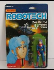 Matchbox 1985 RoboTech Masters Enemy Zor Prime MOC Japanese Painted Face ver