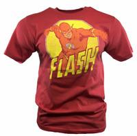 Men's T Shirt DC Comics Universe Comic The Flash Con Size S M XL NEW