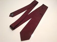 BNWT 100% Auth Paul Smith, Knotted, Luxury PURE SILK Brown Tie. RRP £80.00