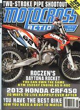 Motocross Action Magazine June 2013 Roczen's Daytona Rocket, Honda CRF450