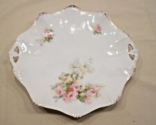 """R S PRUSSIA, ANTIQUE SERVING PLATE, 11"""""""
