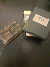 FOSSIL Front Pocket Wallet  for cards , Boxed , used.