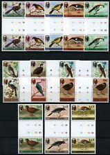 Sierra Leone 1980 Vögel Trappe Ente Ralle Freimarken 590-603 I Stegpaare MNH/846