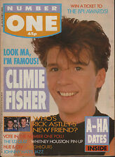 Simon Climie of Climie Fisher on Magazine Cover 1988   Whitney Houston   Bros