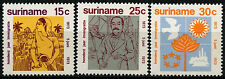 Suriname 1973 SG#749-751 Indian Immigrants  MNH Set #D34463