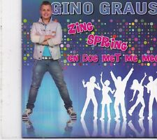 Gino Graus-Zing Spring cd single
