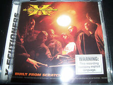 X -ECUTIONERS - BUILT FROM SCRATCH (Australia) CD – Like New