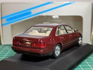 Audi A8 Red 1/43 MINICHAMPS Very Rare