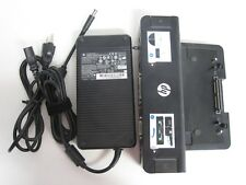 HP Elitebook Docking Station Elitebook W genuine HP power supply adapter charger