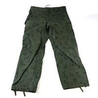 USGI Desert Night Camo Trousers, US Military Soviet Era Camouflage Pants MEDIUM