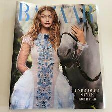 Harper's BAZAAR Magazine October 2016 Gigi Hadid Unbridled Style