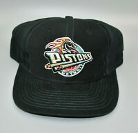 Detroit Pistons NBA Logo 7 Vintage 90s Adjustable Snapback Cap Hat