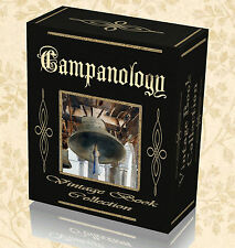 Vintage Campanology Books Bell Ringing Founding Tuning Church Hand Change DVD 15