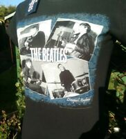 The Beatles At The Cavern Women's Black T-shirt by Rock Off ~ Small-Medium NEW