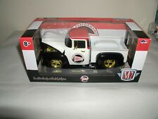 m2 machines chase gold trim 1956 ford f-100, holley 500 pieces,1:24 scale NEW