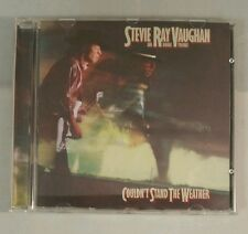 CD - Stevie Ray Vaughan - Couldn't Stand The Weather - GOLD DISC 1984 album epic