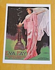 TASCHEN MAGIC POSTER POSTCARD ~ EVA FAY ~ HIGH PRIESTESS OF MYSTICISM ~ 1911