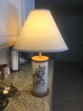 Vintage Leviton Birds Wildlife Lamp Signed Francis Lee Jaques Beautiful