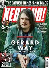 KERRANG! magazine February 2019: Gerard Way (My Chemical Romance) + art prints
