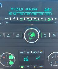 2007-2013 SATURN OUTLOOK RADIO AND CLIMATE CONTROL REPAIR DECALS