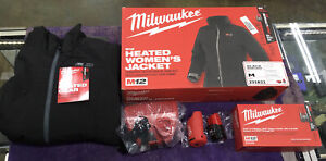 Milwaukee M12 Heated Women's Jacket Medium 231B21 Kit with Battery and Charger