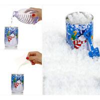 Nieve instantánea hombre-hecho magia artificial nieve Navidad decorac*ws