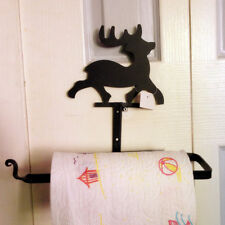 Wrought iron kitchen paper towel holder paper rack