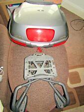 OEM Honda VFR 800 Vtec Topbox + rack  sliver / grey  02 - 11 2 keys