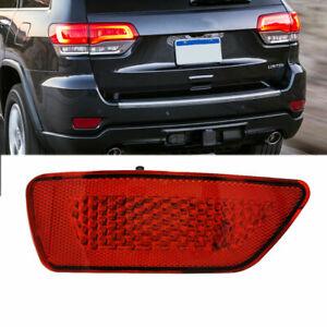 Left Rear Bumper Reflector Light Lamp For Jeep Grand Cherokee Compass 2011-2016