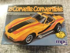 1975 Corvette Convertible 1/25 scale Mpc kit # 6360