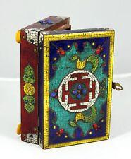 "Handmade Box with in-laid Semi-Precious Stones  "" RARE "" fromTurkey  (8"" Wide)"