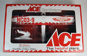Ace Hardware Franklin Utility Glider Airplane Coin Bank 1:38 Limited