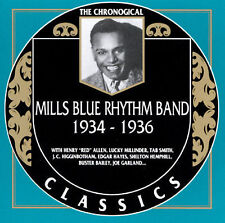MILLS BLUE RHYTHM BAND 1934-36-CLASSICS CD NEW SEALED LONG OUT OF PRINT