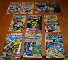 LOT CAPTAIN AMERICA COMIC BOOKS LOT FOR COLLEGE BOOKS / TUITION - READ BUT LOVED