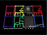 Waveshare Raspberry Pi Model 2B Case B New Shell Colorful Acrylic Cover Box