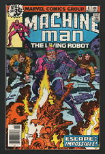 MACHINE MAN #8, 1978, Marvel Comics, VF/NM CONDITION COPY, ESCAPE: IMPOSSIBLE!