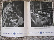 WWII Memorabilia - Mechanical Handling Systems Inc.- War Production Photos- Rare