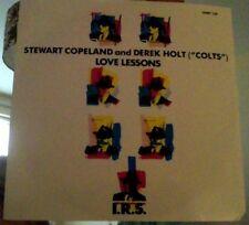 "Stewart Copeland & Derek Holt love lessons vinyl 12"""