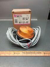 Nos Target Tech Remote Head Amber Strobe Light 601121