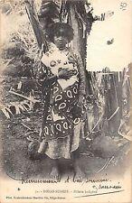 BR57030 Diego Suarez fillette indigene folklore costume     Africa  Madagascar