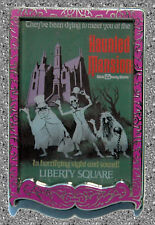 WDI Haunted Mansion Poster Pin - DISNEY LE 300  - WDW -  2007