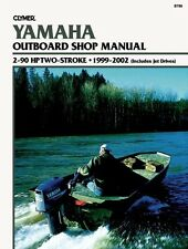 CLYMER YAMAHA OUTBOARD 3 HP TWO STROKE REPAIR SHOP SERVICE MANUAL 1999-2002