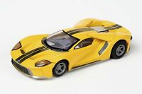AFX 22029 Ford GT Triple Yellow - Mega G+ HO Scale Slot Car