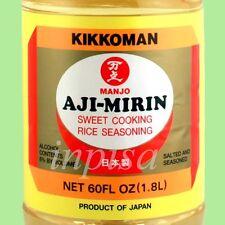 MIRIN MANJO 1 Bottle x 60oz SWEET COOKING RICE SEASONING KIKKOMAN