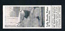 1926 Dominion Chocolate Sports Card #55 Leila Brooks Potter (Skating)