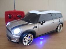 MINI COOPER CLUBMAN Radio Remote Control Car LED LIGHTS YELLOW COLOUR * MINI CAR