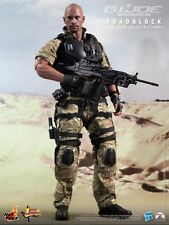 "HOT TOYS GI Joe Retaliation Roadblock Dwayne Johnson 12"" Figure IN STOCK"